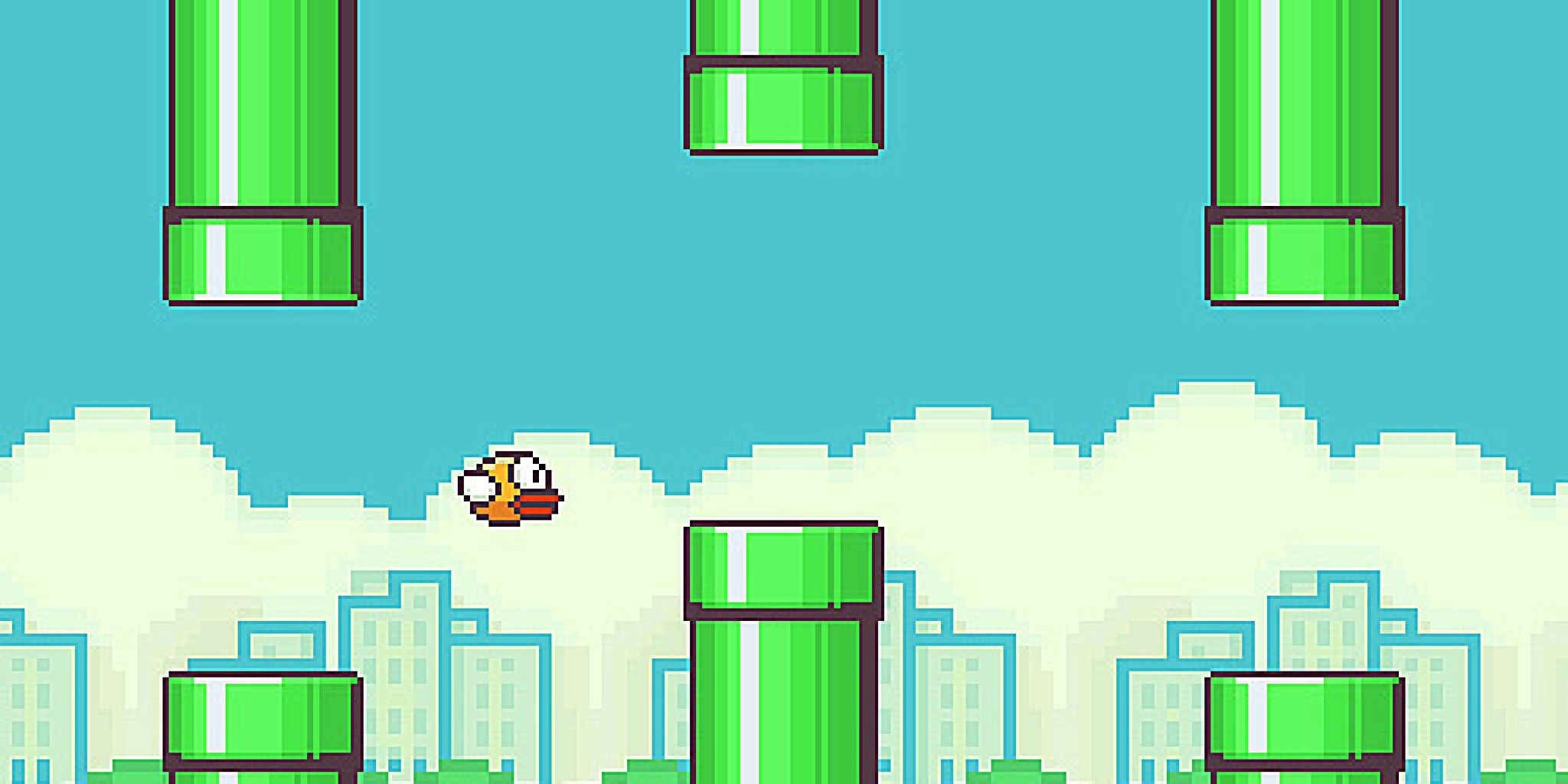 Screenshot of flappy bird
