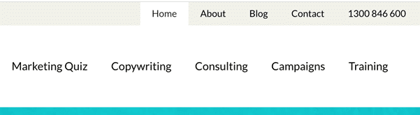 A screenshot of the tcc.international menu bar with items including home, about, blog, and contact.