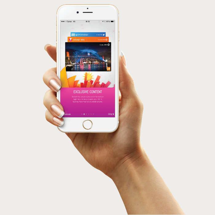 City of Sydney New Year's Eve app
